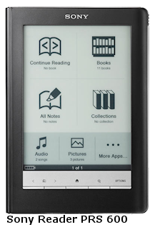 Tablette Sony Reader PRS 600